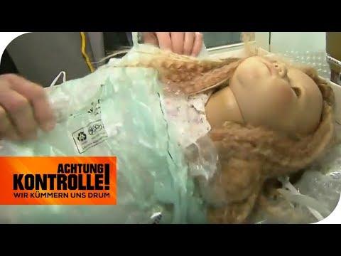 Puppen aus Russland im Zoll: Wie teuer sind sie? | Achtung Kontrolle | kabel eins