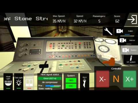 A Subway Simulator (Orange Line) Full Route