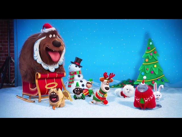 The Secret Life of Pets - Official Trailer #2 - The Holiday Greeting