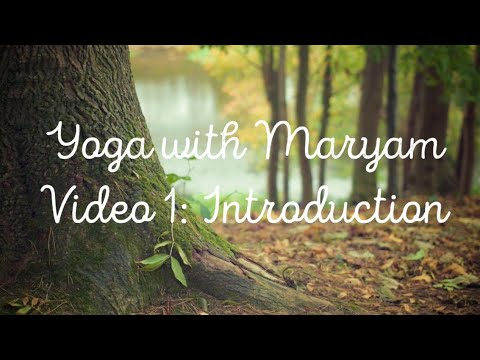 Download Yoga with Maryam : Video 1 : Introduction