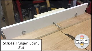Simple Finger Joint Jig