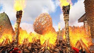 robamos un huevo de dragn solos en la isla 6 ark survival evolved
