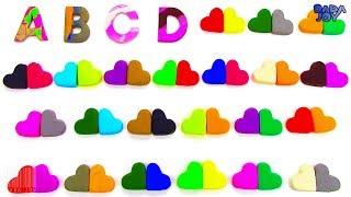 Abecedario en Español para Niños|Abecedario con Play Doh|Aprende los Colores|Aprenda el Alfabeto ABC