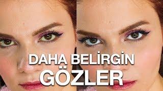 Gözleriniz Daha Büyük Gözüksün! | Göz Akı Beyazlatma