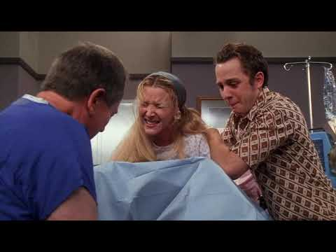 Phoebe having triplets friends scene