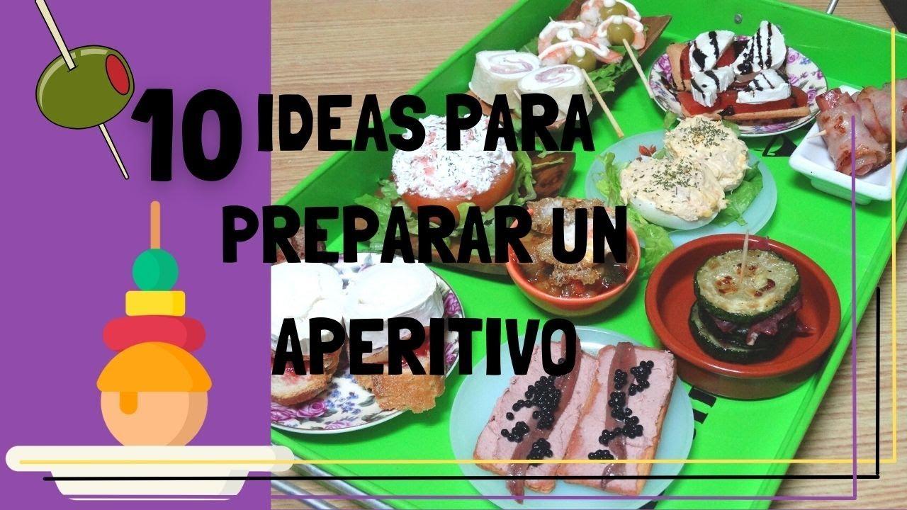 10 ideas para preparar un aperitivo tapas raciones y for Canal cocina tapas