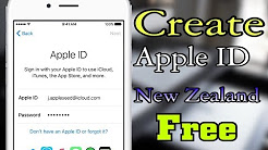 Create Apple ID New Zealand Without Credit Card Free on iPhone, iPad, iPod