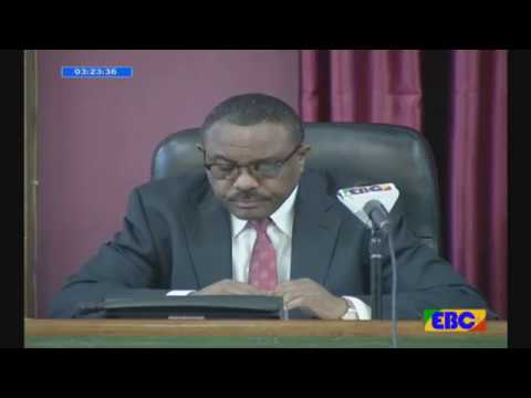 ETHIOPIA : PM Hailemariam Desalegn Q and A in Parliament.