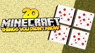 20 things you didn t know about minecraft part 5