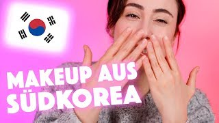 Koreanisches Makeup im Test 🇰🇷😱Korean Beauty Brand First Impression  Hatice Schmidt