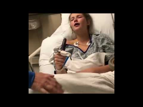 Kelsi - Chick High On Anesthesia Surprises Mom With A Special Talent