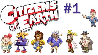Let's Play Citizens of Earth Gameplay - Part 1 - PC 1080p 60 FPS Walkthrough/Playthrough