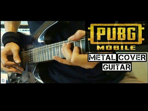 PUBG Mobile soundtrack theme song Metal Cover Guitar | no copyright