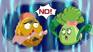 Plants vs. Zombies Animation : Warm dissuade from bestie