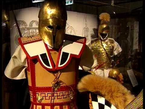 Exhibit Shows Evolution Of Ancient Roman Armor