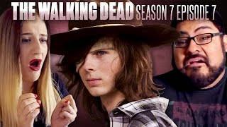 "The Walking Dead: Season 7 Episode 7 ""Sing Me A Song"" Fan Reaction Compilation"