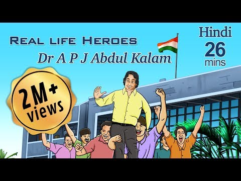 Popular Dr. Abdul Kalam Stories: Learn Hindi with Subtitles