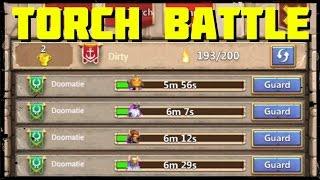 Castle Clash: Torch Battle - Guild Wars Part 1 of 3