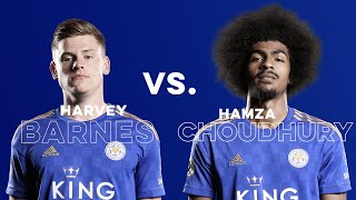 Teqball: Harvey Barnes vs. Hamza Choudhury