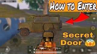 No One know this secret Trick in Pubg Mobile | Secret Door