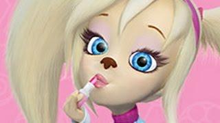 Барбоскины игра Модный макияж Розы игры для девочек