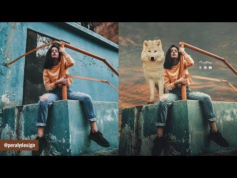 Tardeada | Fotomontaje Avanzado + Cambio de Fondo con Photoshop [Tutorial] thumbnail