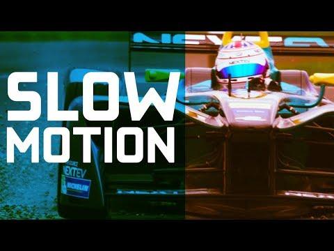 Formula E In Slow Motion!