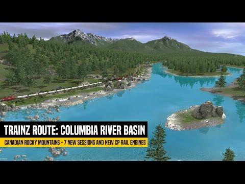 Trainz Route: Canadian Rocky Mountain - Columbia River Basin - Official Trailer