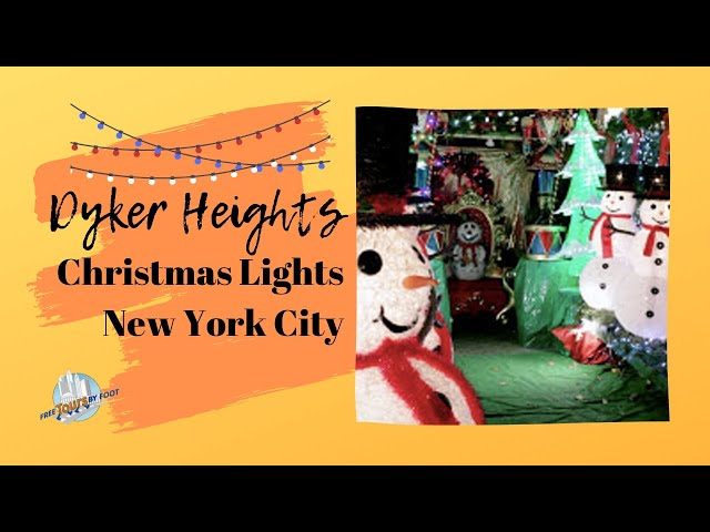 dyker heights christmas lights map tips and tours 2018 - 1980s Christmas Decorations