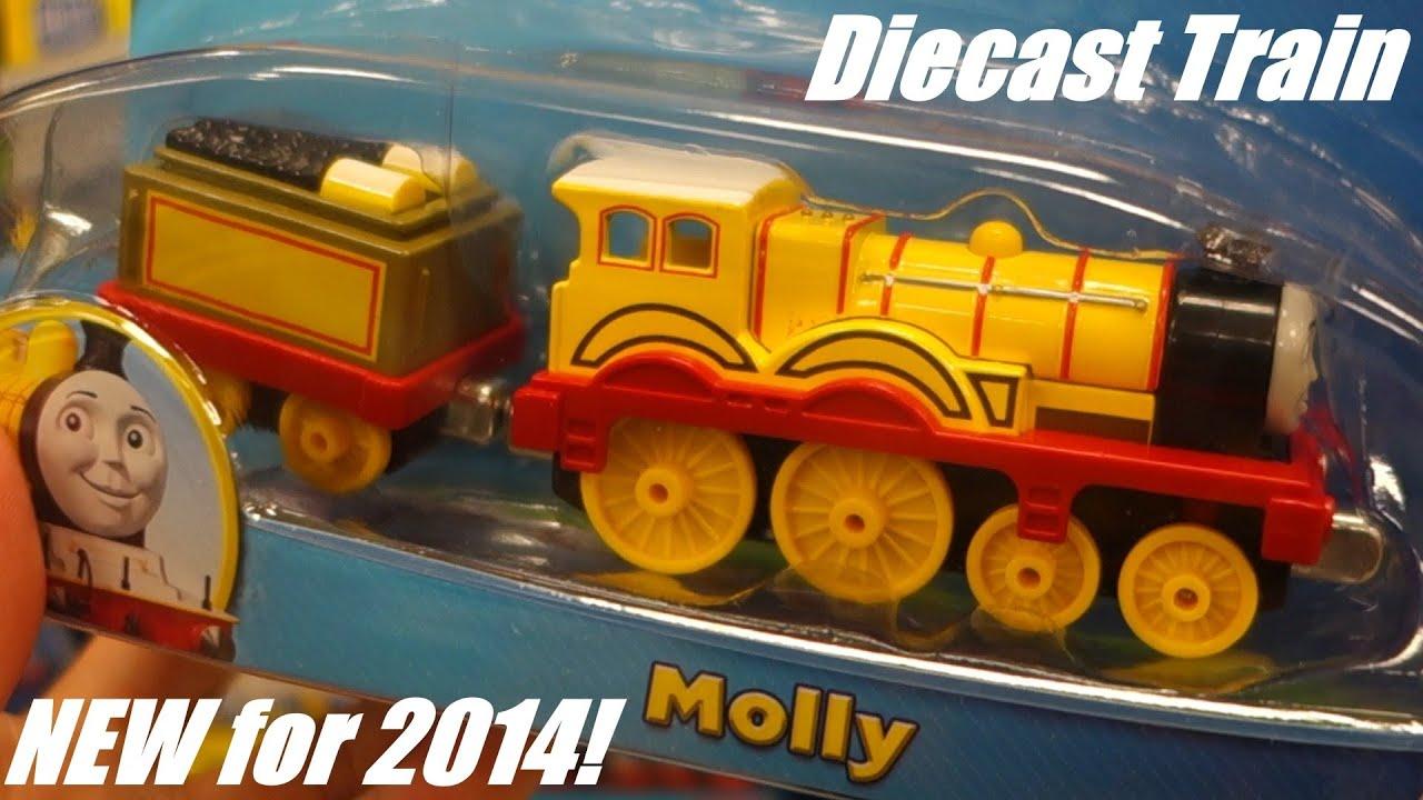 Thomas Friends Take N Play Molly Diecast Toy Train Hulyan Maya At The Playground