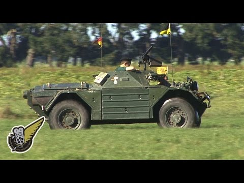 Military Vehicle: Ferret Scout Car
