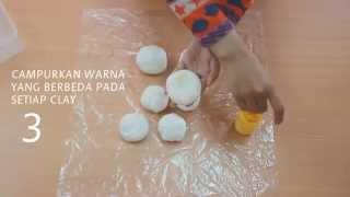 Membuat Clay Berbahan Dasar Tepung