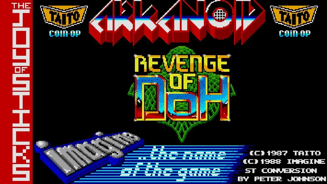 arkanoid 2 revenge of doh