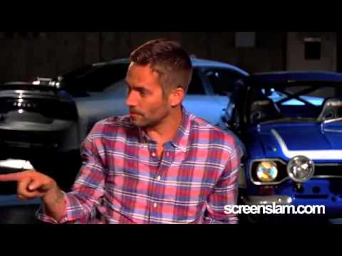 Fast & Furious 6  Paul Walker Exclusive Interview (Screenslam)