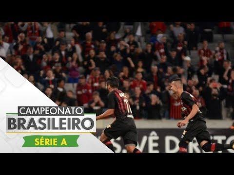 Melhores Momentos - Gols de Atlético-PR 5 x 0 Avaí - Campeonato Brasileiro (03/08/2017)