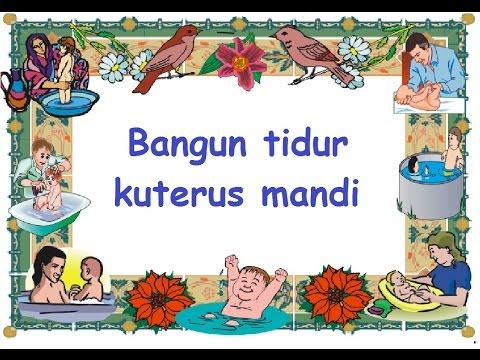 BANGUN TIDUR (LIRIK) - Lagu Anak - Cipt. Pak Kasur - Musik POMPI S.