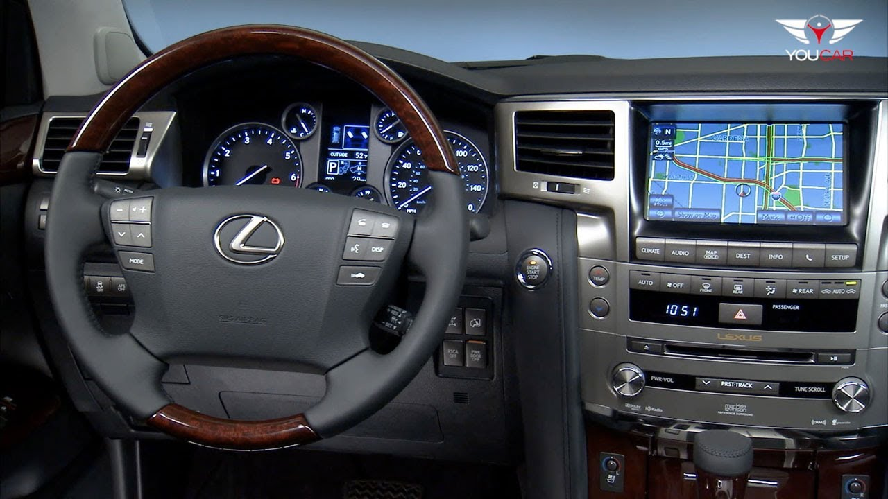 2013 Lexus Lx 570 Interior Youtube