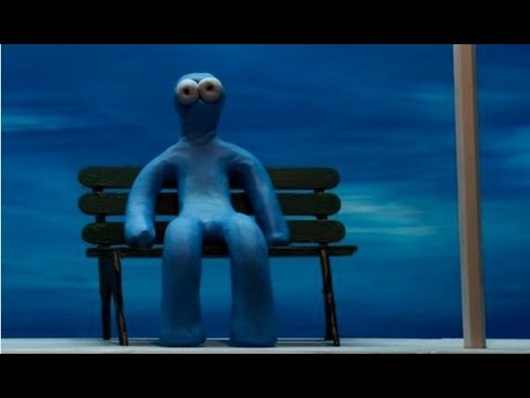 blue man claymation stop motion animation youtube