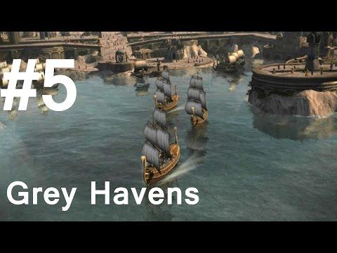Battle for Middle Earth II Walkthrough - Part 5: Grey Havens [Hard]
