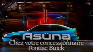 Pub Québec - Asüna GT - 1992