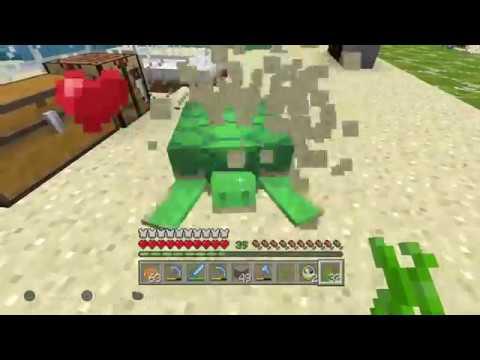 Eggs Hatching Minecraft Turtle Glitch Ps4 Minecraft Youtube