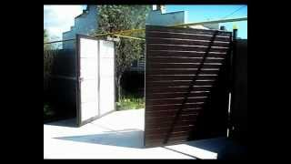 распашные ворота.avi(Основным удобством распашных ворот является двухстороннее открытие. Створки ворот крепятся на столбах..., 2012-09-06T11:21:57.000Z)