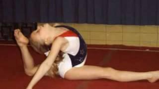 a talented 12 year old gymnast