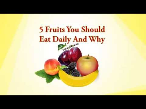 5 Fruits You Should Eat Daily Natural Whole Food Diet Plan for Health and Energy