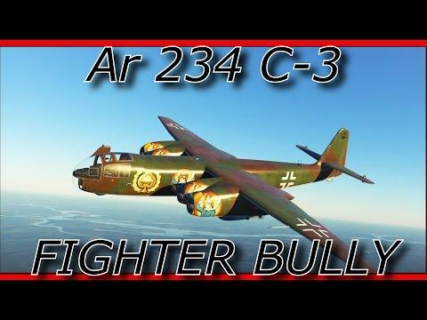 War Thunder || Arado 234 C-3 - Bullying Fighters The Easy Way