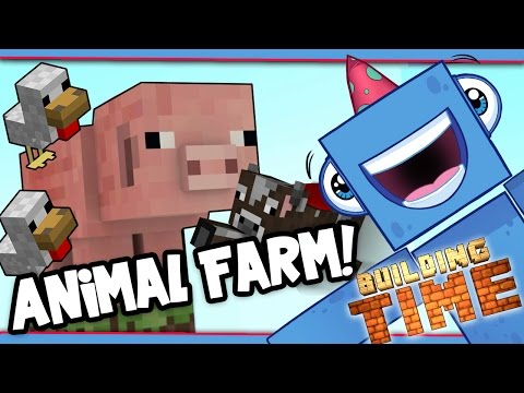 Minecraft Xbox - ANIMAL FARM! - Building Time! [#32]