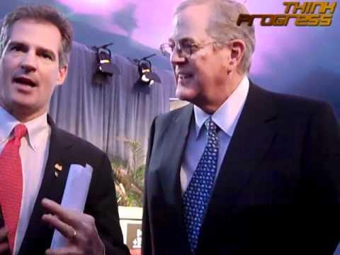 Scott Brown Begs David Koch For Money