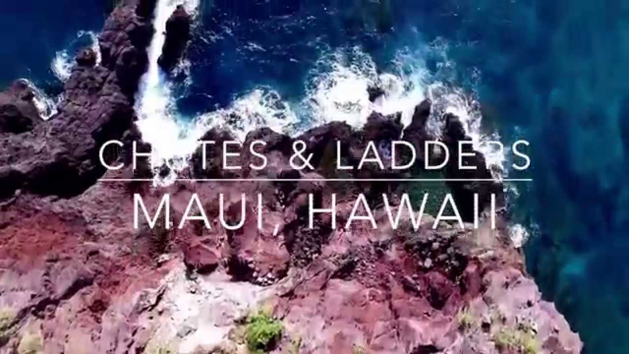 Chutes and Ladders - Maui, HI *Drone & GoPro Video* - YouTube