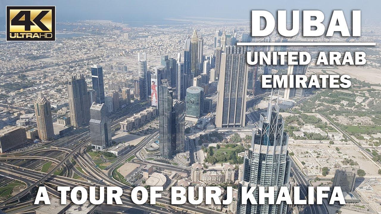 DUBAI - Inside Burj Khalifa [4K]