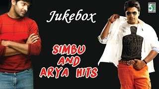 Cover images Simbu and Arya Super Hit Best Collection Audio Jukebox